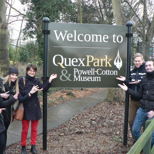EiM Students at Quex park